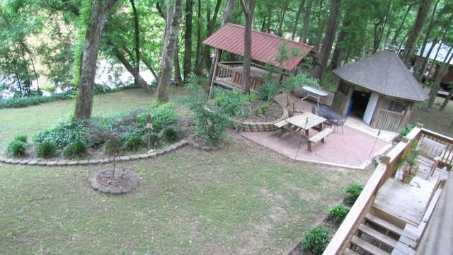 Watch the river from one of 4 fully furnished decks!