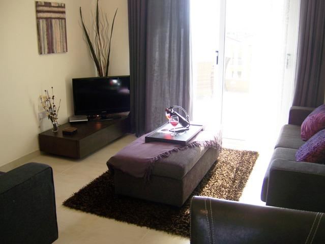 The interior designed lounge area