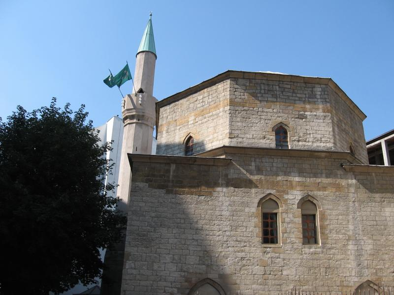 Bajrakli mosque, 5-6 minutes walk. Oldest building in Belgrade.
