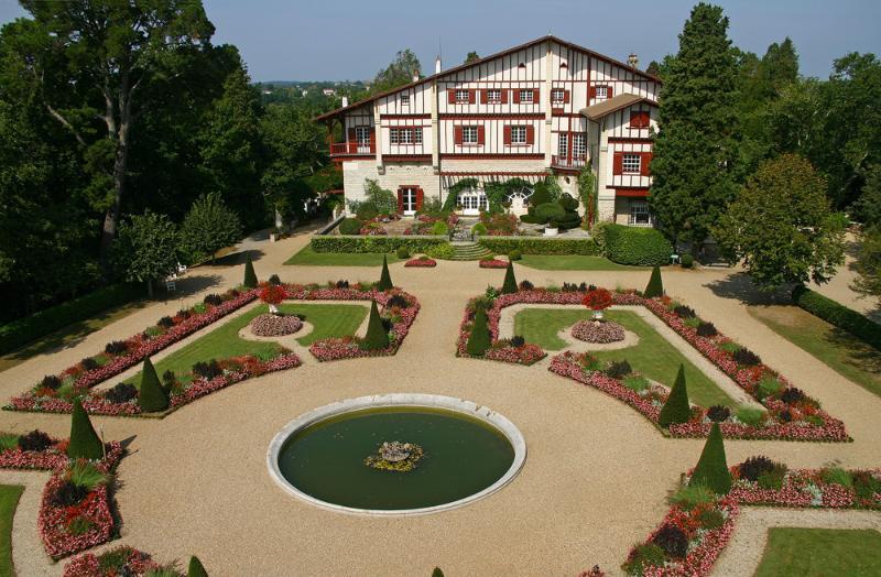 Cambo les Bains, Arnaga, maison d'Edmond Rostand, auteur de Cyrano de Bergerac