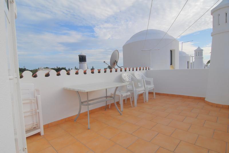 Terrasse sur le toit de la salle à manger