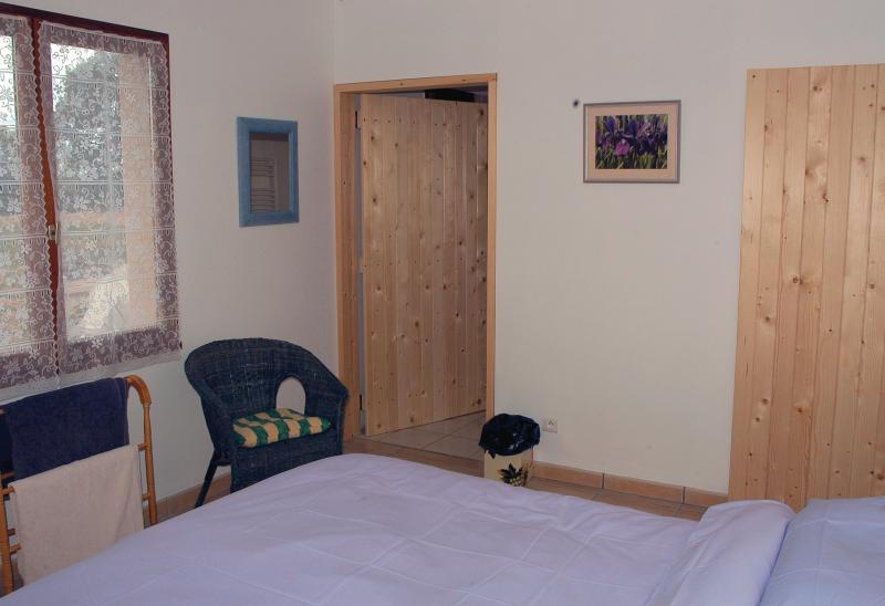 One of the ground floor bedrooms - suitable for wheelchair users