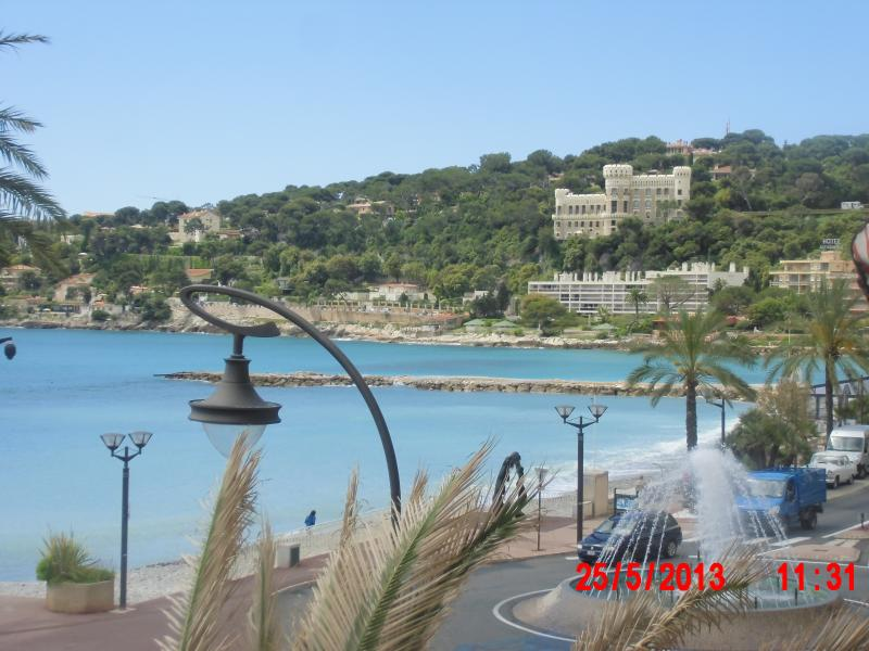 French Riviera:grand studio+terrasse vue mer, location de vacances à Roquebrune-Cap-Martin