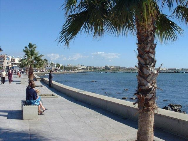 Paphos Seafront and Promenade