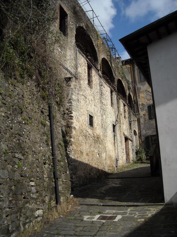 convento do século XII no Vicolo composto