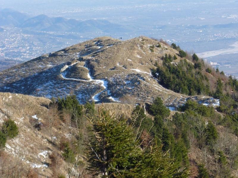 Veduta dal Monte Grappa