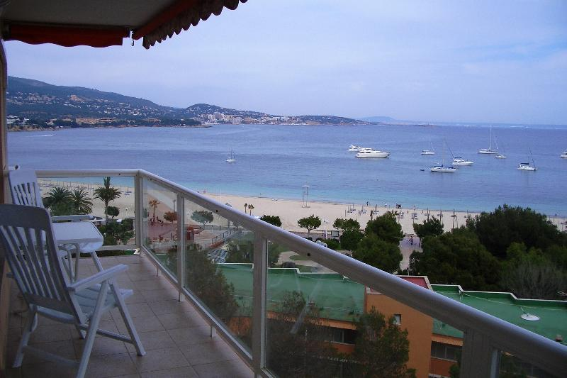Balcony with views over Palma Nova Bay