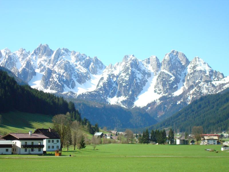 Gosau valley in spring