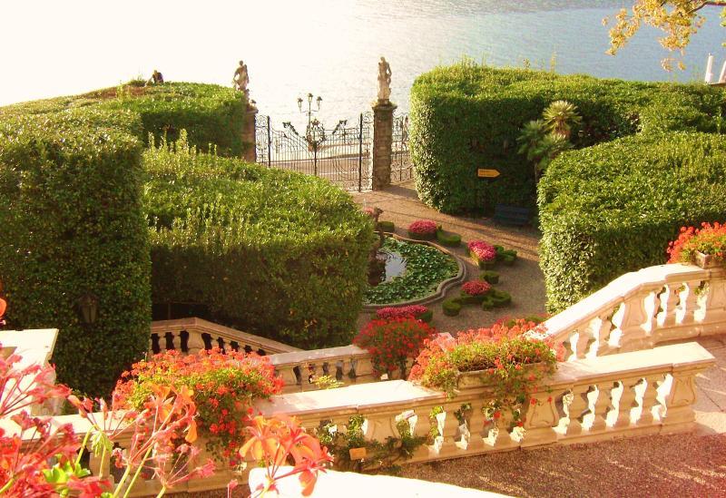 Villa Carlotta Gardens close to apartment.(10 minutes walking)