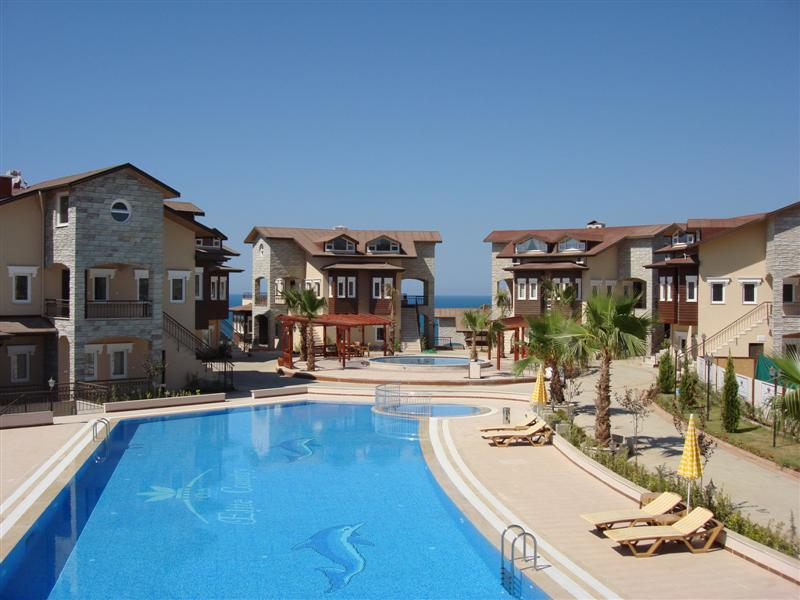 large pool  and children pool area plus spectacular  sea views