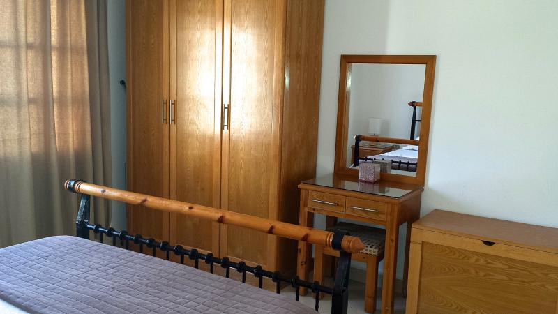 Large wardrobe with matching dressing table