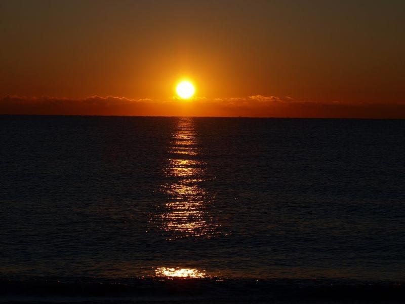 Sunrise on the Vera Beach
