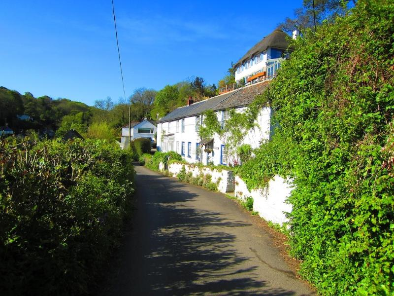 The cottage from up the road