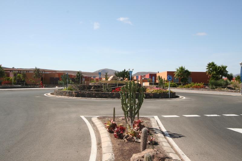 Entrance to Salinas de Antigua Golf Course