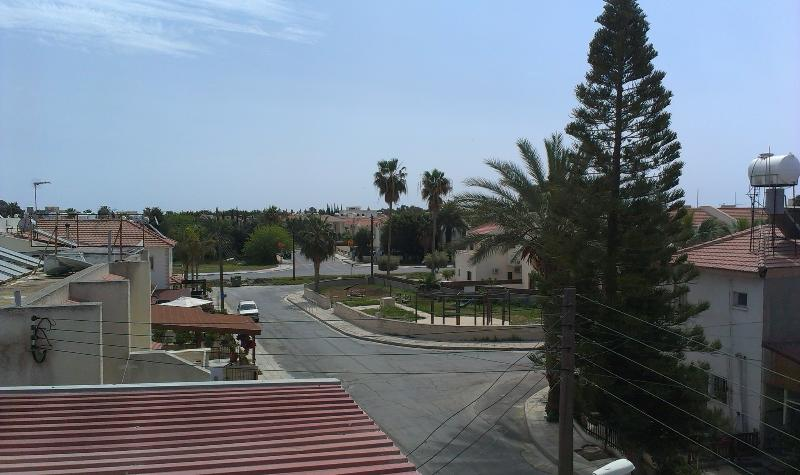 View of the surrounding area from the apartment.