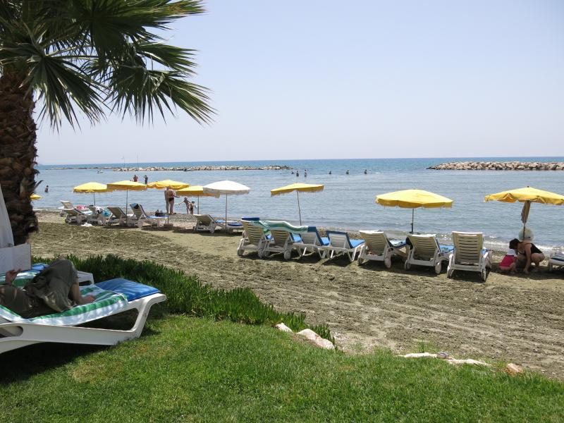 The beach which you can access just within ten minunte walk from apartment or 1 minute drive.