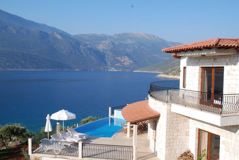 Villa Sema pool and view