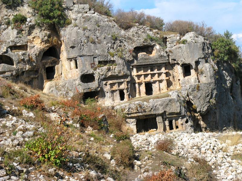Ruins at Tlos