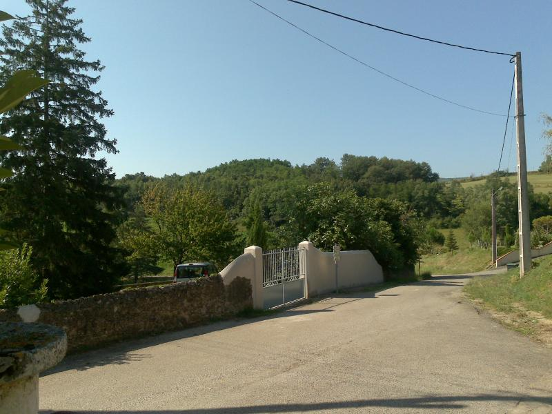 Open Countryside from Front Gates