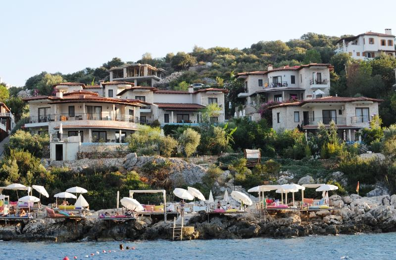 Your villa from sea side