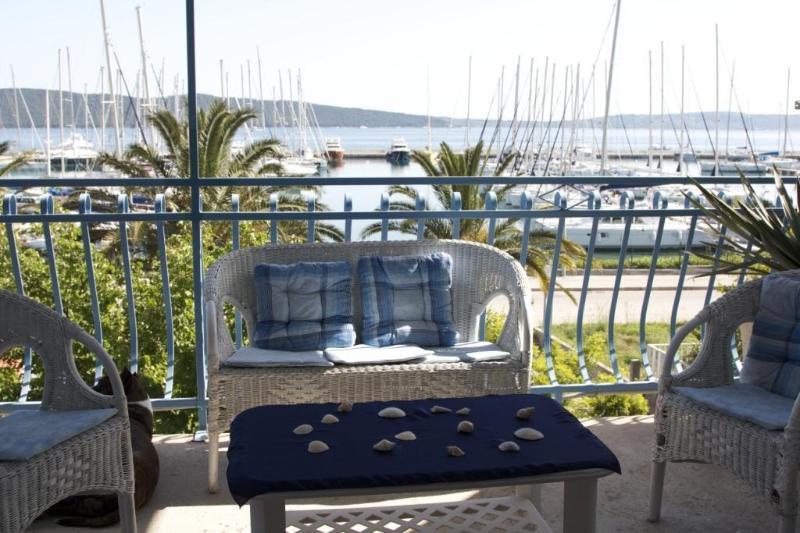 sunbathed terrace