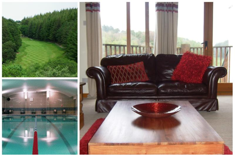 Stunning 3 bed  with superb golf & leisure pac, vacation rental in Saltash