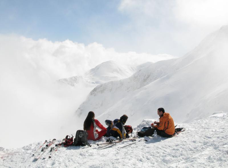 Todorka Peak - on top of the world!