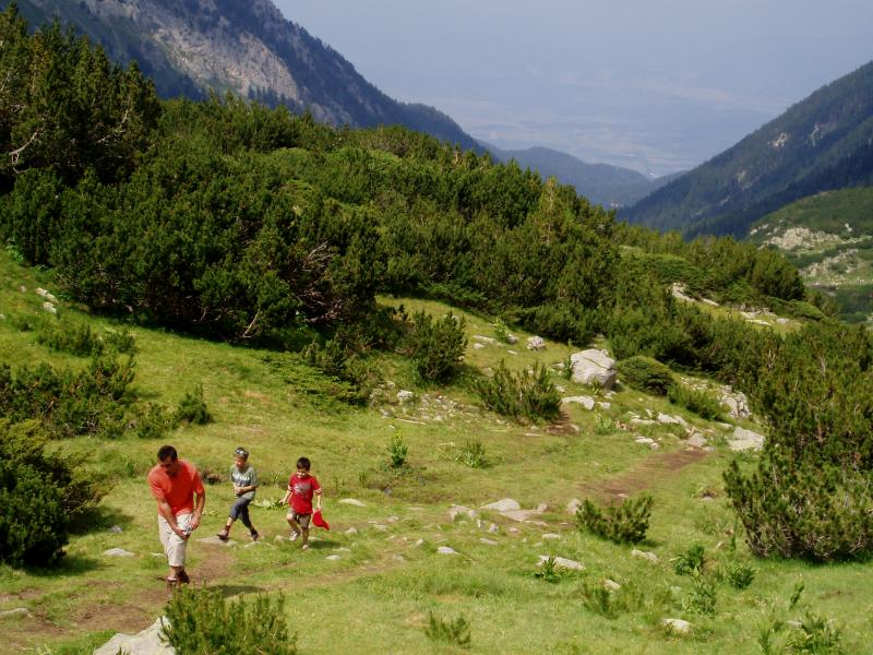 Clearly marked trails to suit all walkers in the Pirin National Park