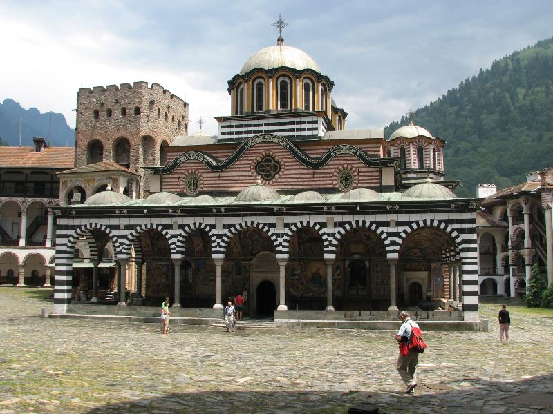 The Monastery of St Ivan of Rila- the largest and most famous Eastern Orthodox monastery in Bulgaria