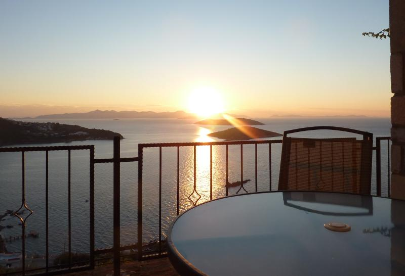 Golden Sunset from your terrace
