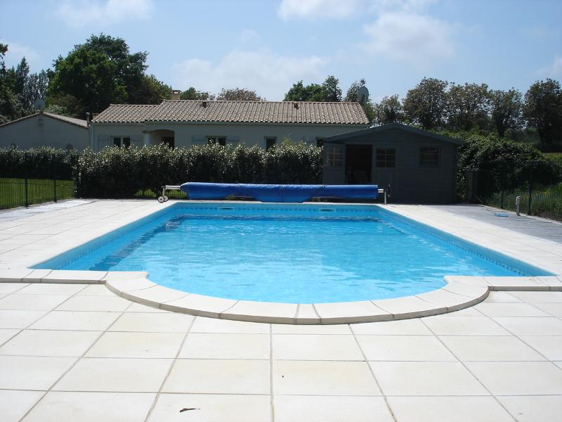 New 10x5m Heated Swimming pool with large terrace