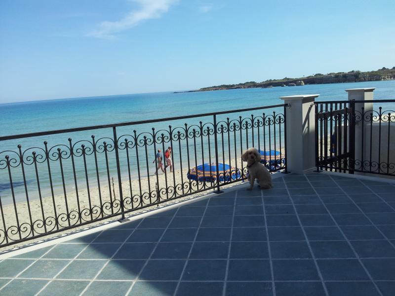 bella villa con veranda sul mare giardino privato., vacation rental in Cassibile