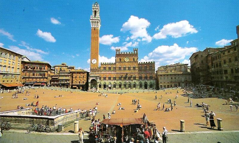 Enjoy Siena's old city