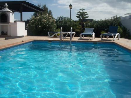 Jardin & vue piscine