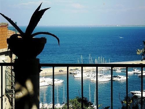 Dal Giardino si vede il Porto Turistico