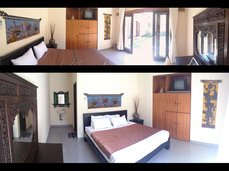 Double Bedroom with TV/LCD/DVD and wireless music system