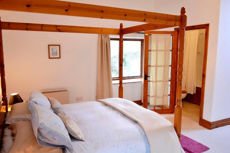 The master bedroom is light and spacious