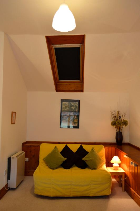 Skylight in end bedroom (can you see the stars at night?)