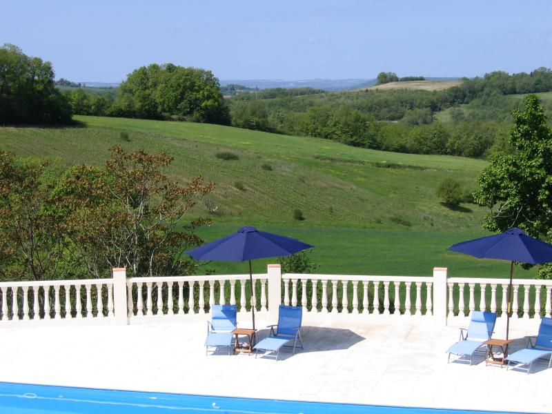 View from the Pool Terrace