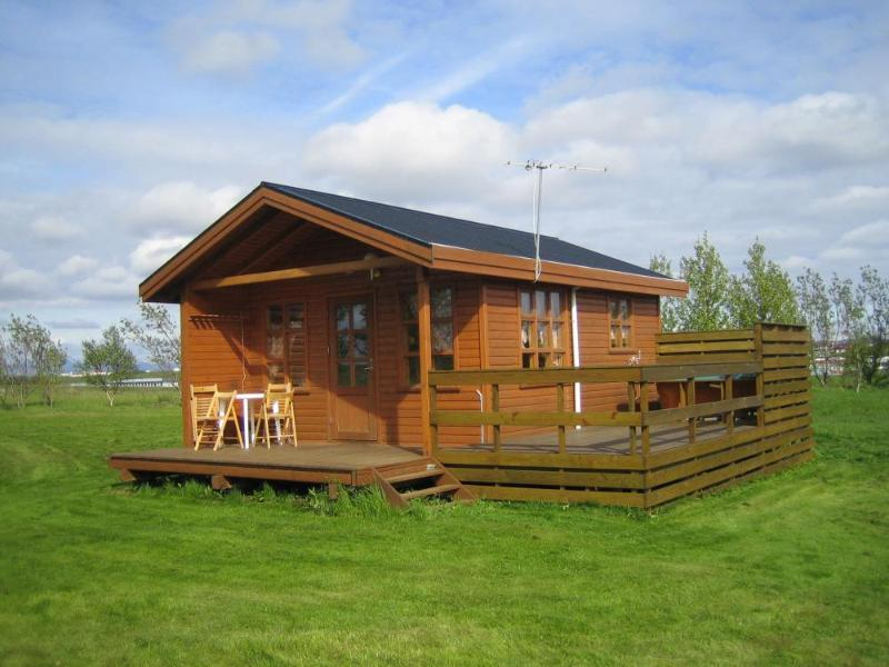 Heiðarból, holiday rental in Kalfholt