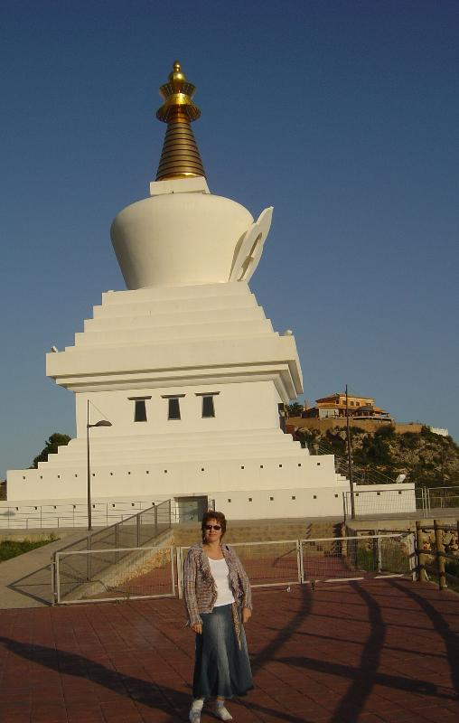 Buddhist Stupa - Pueblo