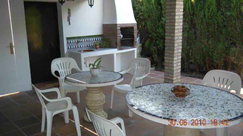 Patio y barbacoa