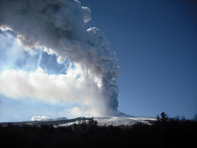 the view of Etna