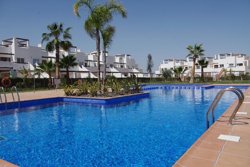 Het zwembad op de Naranjos