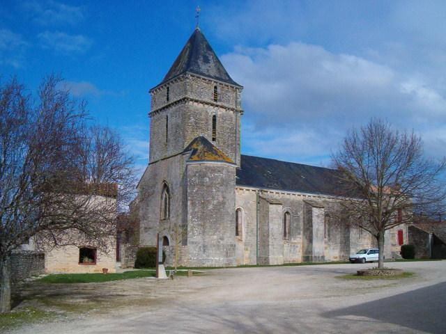 12th century church in nearby Sainte Soline