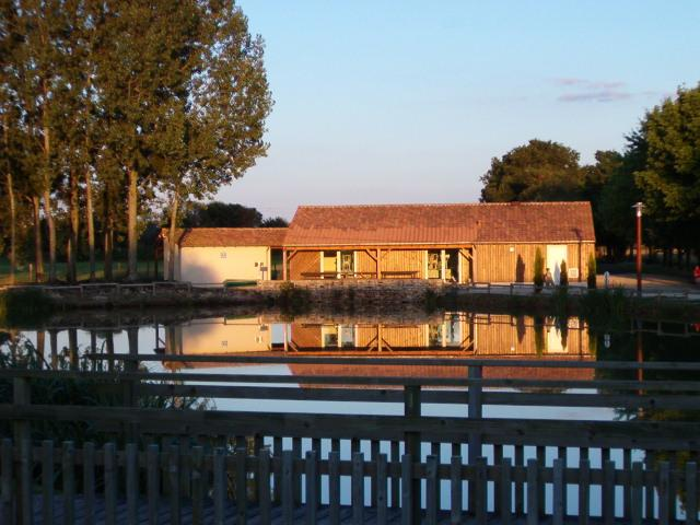 Fishing lake at Messe, also BBQ & picnic area