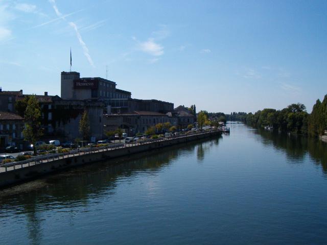 River Charente, Cognac