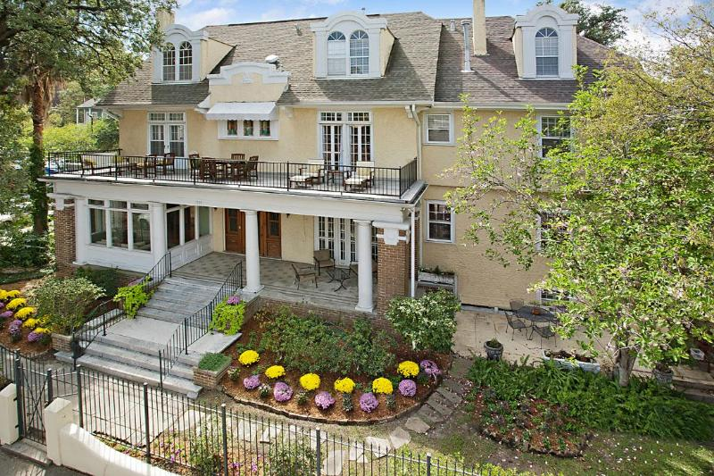 The grand Garden District Mansion.  Welcome to your home away from home.