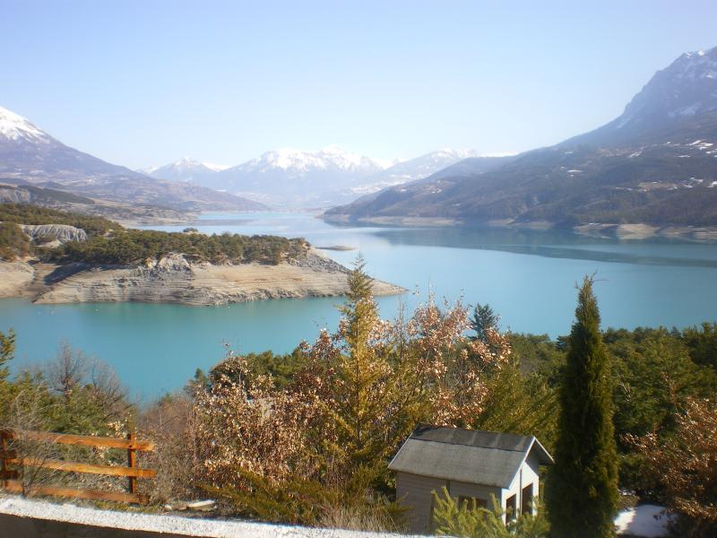 lac de serres Ponçon