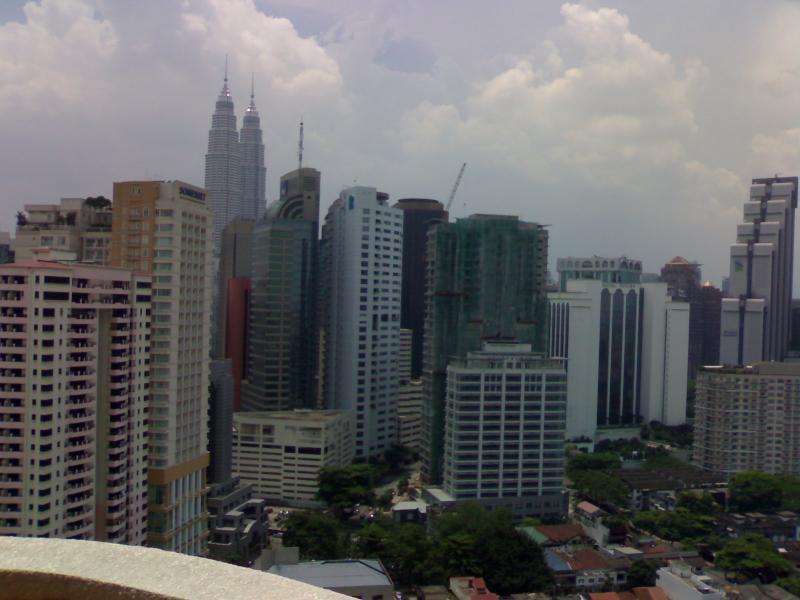 vista do KL horizonte da cidade